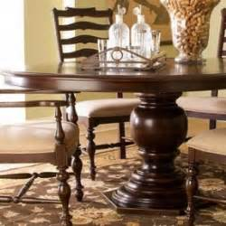 paula deen home pedestal table paula deen pedestal dining table foter
