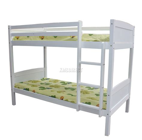 Furniture Stores That Sell Bunk Beds Foxhunter Bunk Bed 3ft Wood Wooden Frame Children Sleeper No Mattress Single New Ebay