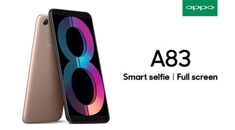 Oppo A38 oppo a83 sapa pencinta selfie di tanah air