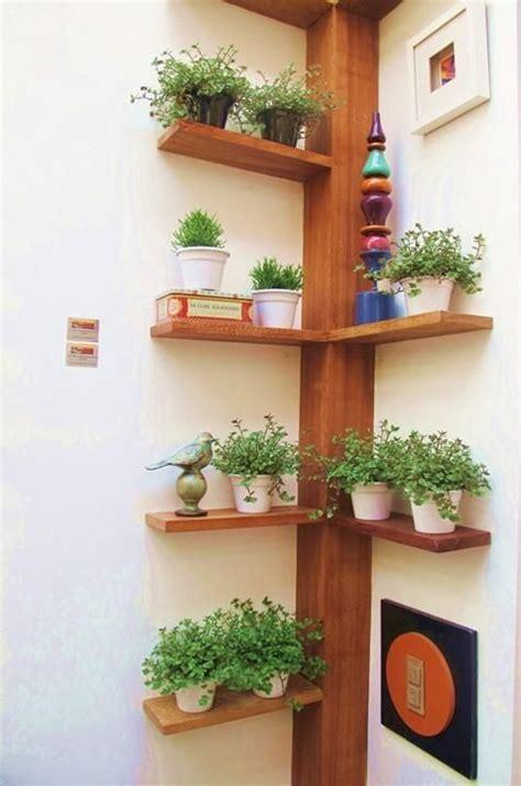 pflanzen ideen selbstgebautes eckregal ideen pflanzen vasen baum 228 hnlich