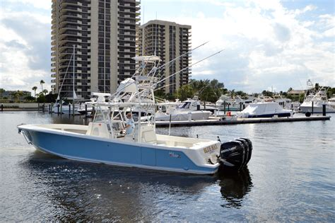 sea vee z boats 2014 used sea vee 390 z center console fishing boat for