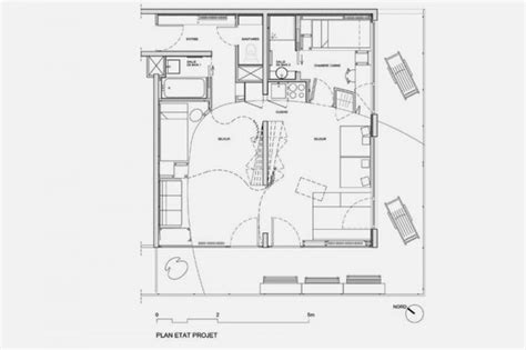 Small Apartment Design Ideas By H2o Architects Plan Of Interior Design For Small Apartment With Many