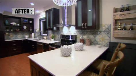 Our Cement Tile on Kitchen Crashers TV Show   Villa Lagoon