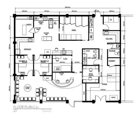 veterinary floor plan design veterinary hospital