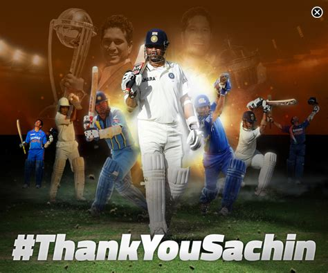 Mba In Bcci by Bcci Launched Thank You Sachin Caign On