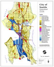 seattle zoning map look at the amount of space in seattle dedicated to single