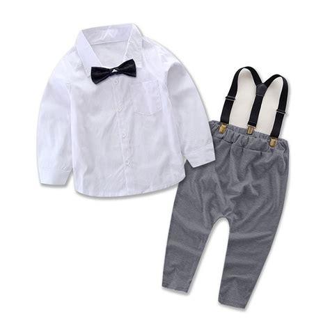 Gelang Baby 2 Pcs cotton 2pcs toddler baby boys shirt tops