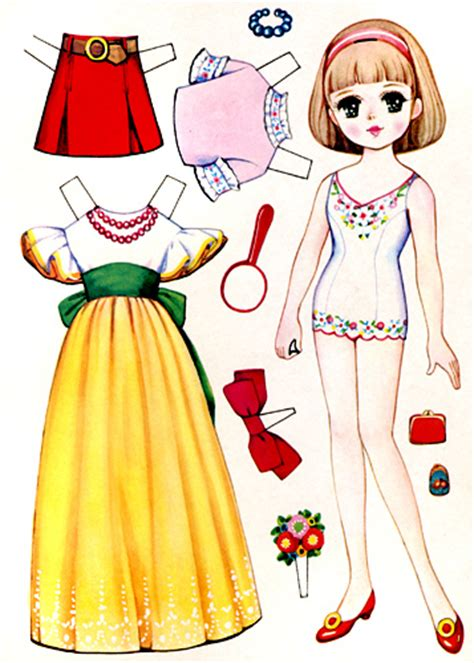 How To Make Doll From Paper - vintage japanese paper doll vintage japanese paper doll
