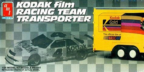 kodak ernie irvan nascar racing transporter trailer  fs