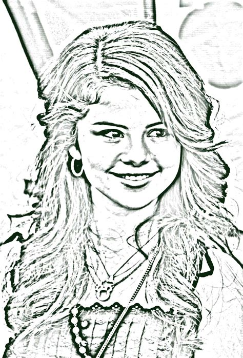 selena gomez and taylor swift hollywood coloring pages