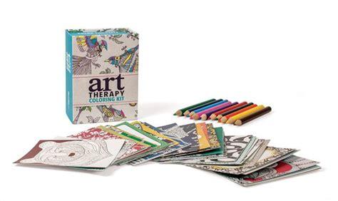 the art book mini 0714867969 art therapy coloring kit by sam loman 9780762460564 item barnes noble 174
