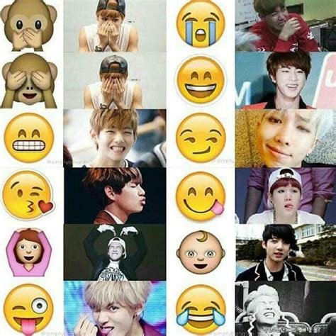 bts emoji bangtan as emoji k wave pinterest haha
