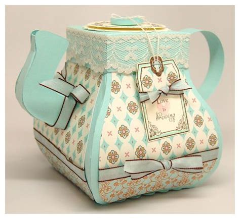 How To Make A Paper Teapot - 17 best images about handmade boxes tutorials on