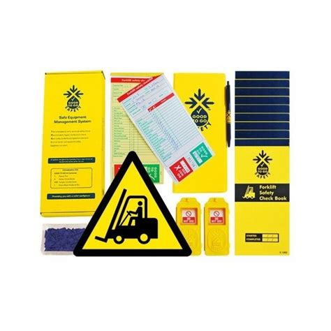 News Presenting Accessories Catalog 2007 by Forklift Inspection Kit