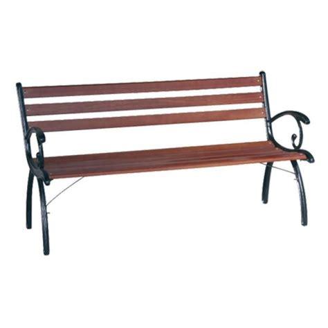 panchina in ghisa panchina in ghisa e seduta con doghe in legno modello