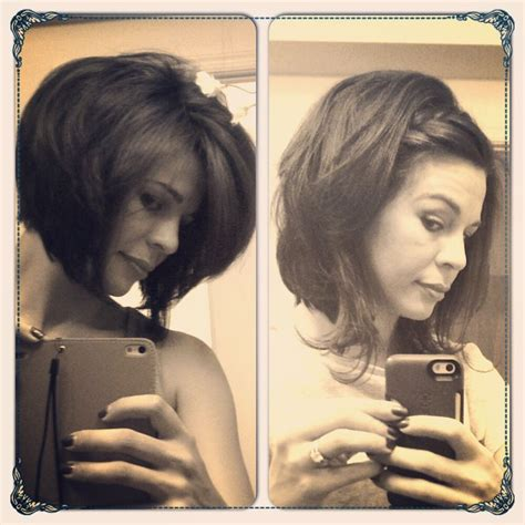 how to grow out an angled bob growing out an angled bob texture is key my style