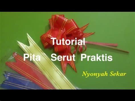 Pita Serut Pita Tarik Kecil membuat sandal pita menggunakan kain perca doovi
