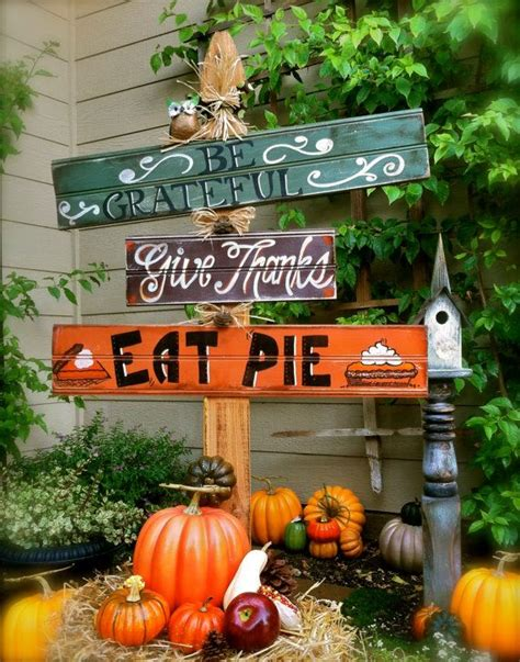 Fall Yard Decorations Thanksgiving 871 Best Fall Decorating Ideas Images On Fall