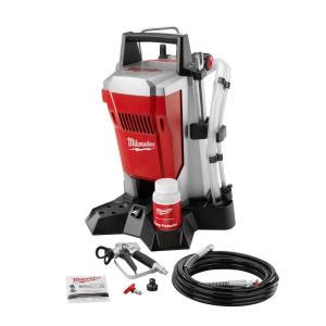 milwaukee airless paint sprayer m4910 10 the home depot