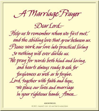 Wedding Anniversary Prayer Quote by Catholic Web Egreetings A Marriage Prayer Influential