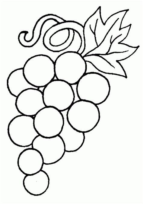 imagenes de uvas para colorear e imprimir uvas para colorear e imprimir imagui