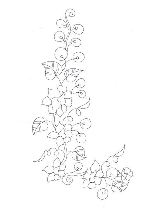 neck pattern sketch embdesigntube semi formal neck patch sketches