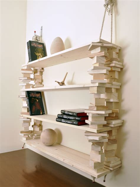 libreria appesa libreria appesa come realizzarla con spezzoni di corda