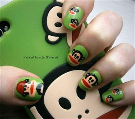 new year nail 2016 monkey easy farm animals nail designs ideas 2013 2014