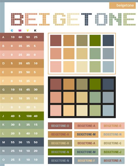 color themes in html beige tone color schemes color combinations color