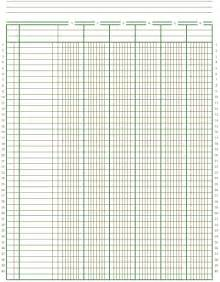 Bookkeeping Paper Template by 8 Best Images Of Printable Ledger Worksheet Monthly