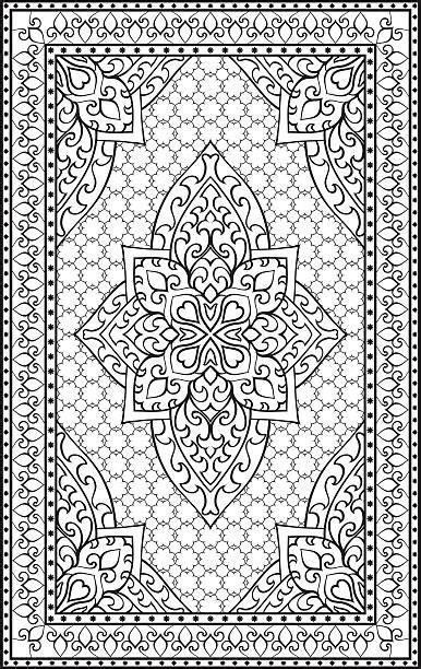 persian pattern vector persian carpet clip art vector images illustrations