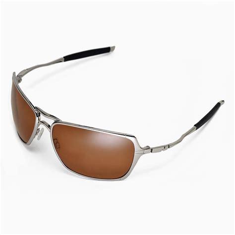 Oakley Inmate Xx Black Ducati Polarized new walleva polarized brown replacement lenses for oakley inmate sunglasses ebay