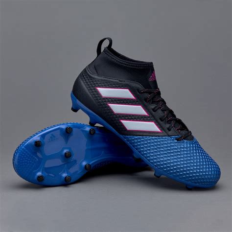 Sepatu Futsal Adidas Ace 173 Primemesh White Blue Turf adidas ace 17 3 primemesh fg junior boots firm ground black white blue