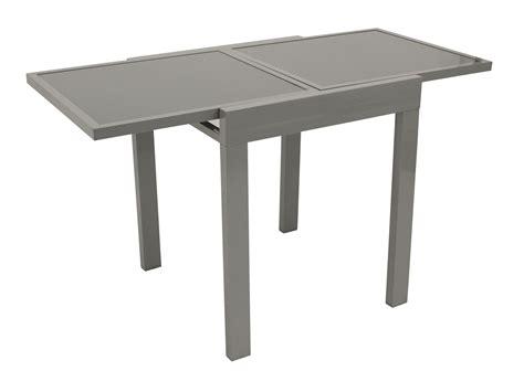 stühle sale balkonausziehtisch 65 130x65cm aluminium glas lda