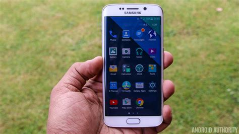 themes samsung edge hands on galaxy s6 edge gets stock android like theme