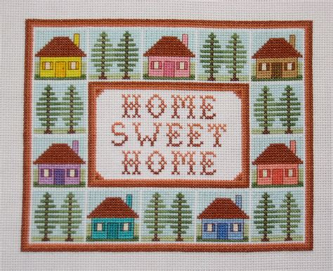 free home pics for gt cross stitch home sweet home pattern free
