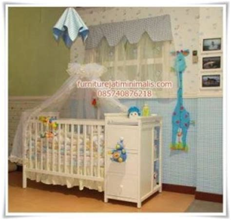 Tempat Tidur Kayu Untuk Bayi tempat bayi tidur tempat tidur bayi tempat tidur baby furniture jati minimalis furniture