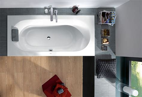 vasca da bagno in acrilico loop friends vasca da bagno in acrilico by villeroy boch