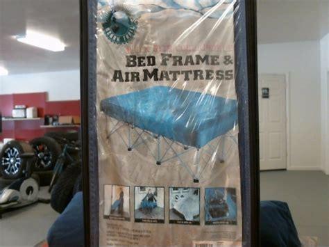 Ozark Trail Bed Frame And Air Mattress Ozark Trail Bed Frame Air Mattress Buya