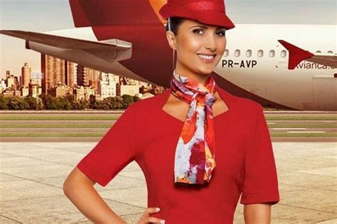 pin airlines flight attendant uniforms hairstyles 2013 avianca airlines cabin crew uniform colombia flight