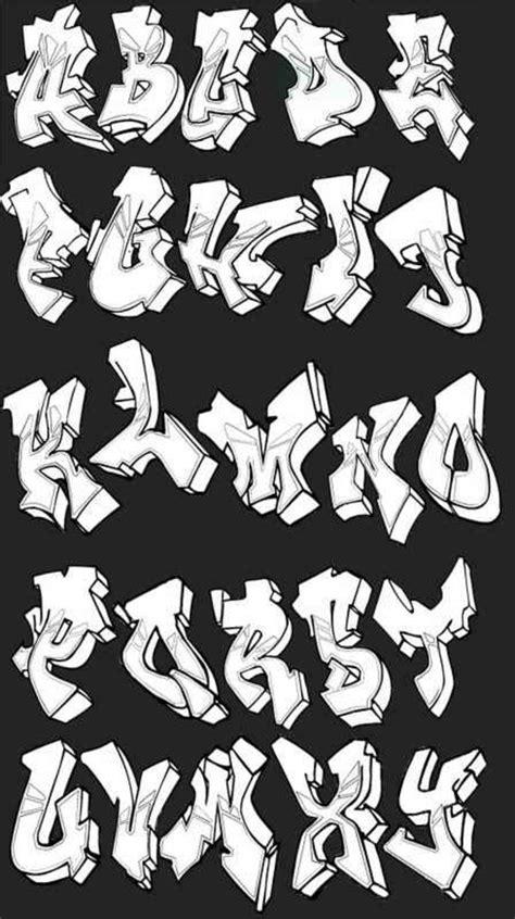 trend terbaru huruf abjad grafiti huruf grafiti keren