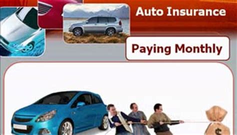 Monthly Car Insurance by Auto Insurance Quotes Comparison Find Cheap