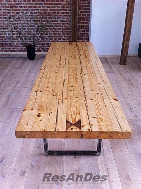 Tisch Aus Alten Balken by Esstisch Aus Alten Balken