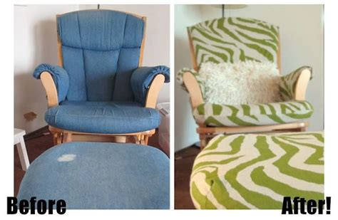 dutailier slipcovers diy projects rocking chair makeover rockers and tutorials
