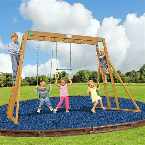 swing set ladder the classic with top ladder swing set by creative playthings
