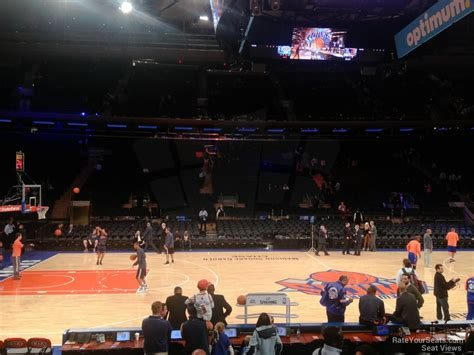 msg section 106 madison square garden section 106 new york knicks