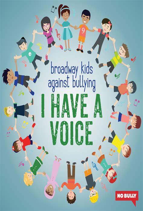 broadway kids  bullying    voice