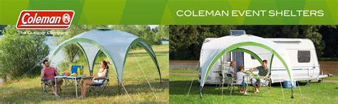 coleman event gazebo coleman event shelter deluxe all weather waterproof