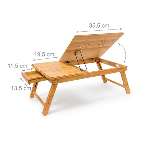 table de lit pour ordinateur portable table tablette support de lit pour ordinateur portable
