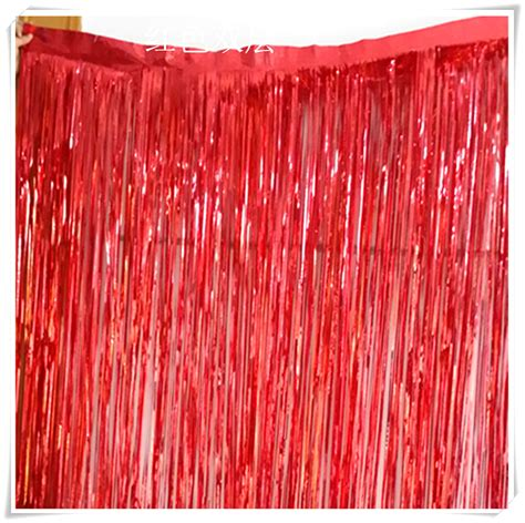 wall curtains for parties 6set lot 1m 2 5m colour tinsel door curtain wall hanging